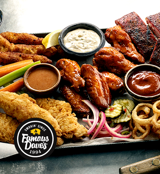 Award-Winning BBQ DMV: Restaurant & Catering | Famous Dave's - home