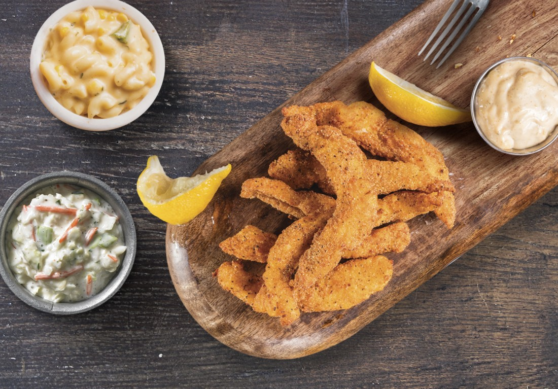 Seafood - Famous Daves DMV - catfish_platter